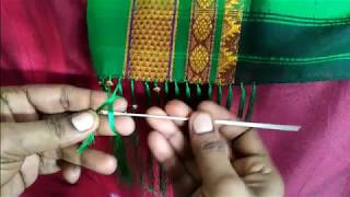 How to Make Saree tassels/Kuchu with beads- easy techniques