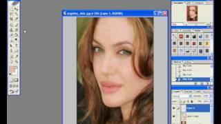 Photoshop Make over / / Anglina Jolie