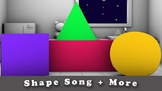 Shapes Song | Five little Monkey | Finger Family | Plus More