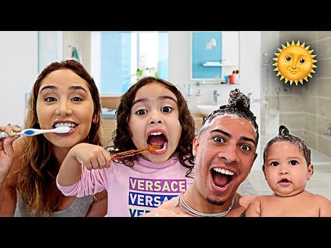 THE ACE FAMILY MORNING ROUTINE