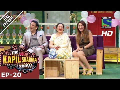 The Kapil Sharma Show दी कपिल शर्मा शो–Rocking Govinda in Kapil's Mohalla– 26th June 2016