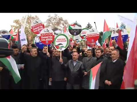 Türkiye Kudüs İçin Ayakta