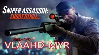Sniper 3D Assassin VLAAHD-MYR Primary Mission 1-40 ITA