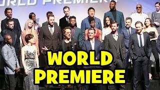 AVENGERS INFINITY WAR Interviews - Josh Brolin, Tom Holland, Sebastian Stan, Scarlett Johansson