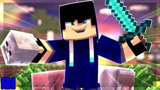 Minecraft: Nova Série COM CABEÇAS !! - RankUP HEADS 01 ‹ Alone ›