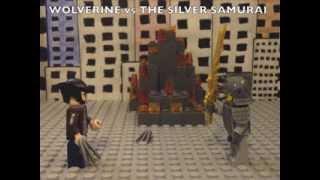 LEGO X-Men: Wolverine vs The Silver Samurai