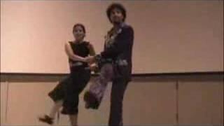 Dan and Sarah Swing Dancing at Movement