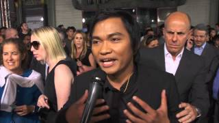 Furious 7: Tony Jaa Official Red Carpet Movie Premiere Interview / การสัมภาษณ์