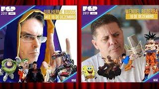 FESTIVAL GEEK PRIME: Guilherme Briggs & Wendel Bezerra