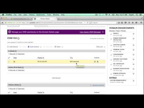 Xxx Mp4 How To Add A Record And CNAME DNS Entries In GoDaddy Domain To Work With Shopify 3gp Sex