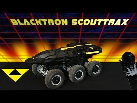 Blacktron Scouttrax: Hot Pursuit