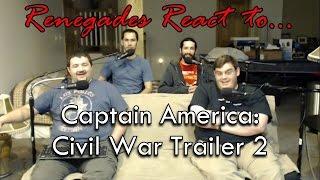 Renegades React to... Captain America: Civil War Trailer 2