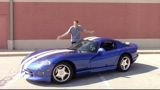 I Bought a Dodge Viper And Drove It 500 Miles Home