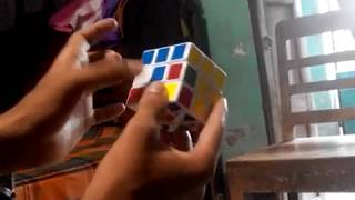 Rubik's Cube Solving bangla বাংলা রুবিক্স কিউব টিউটোরিয়াল  ভিডিও