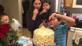 TheChanClan: Popping Popcorn with the West Bend Stir Crazy Popcorn Maker