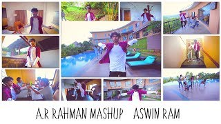 A. R. Rahman Mashup (16 Songs - One Take)   Aswin Ram ft. Choreo Grooves