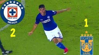 Cruz Azul (2) - (1) Tigres | Jornada 5 | Apertura 2017 | Copa Mx | Resumen Completo