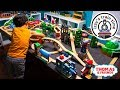 Download Video Download Thomas and Friends | New Thomas Train Wooden Railway Table with Brio! Fun Toy Trains for Kids 3GP MP4 FLV