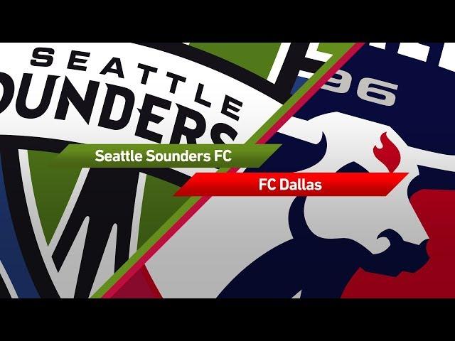 Highlights: Seattle Sounders vs. FC Dallas   October 15, 2017