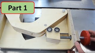 Basic Tools Table Saw Build - Part 1: Blade Lift Mechanism