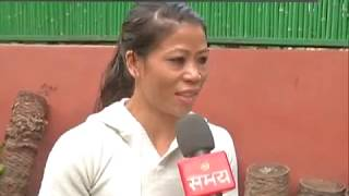 Exclusive interview with Mary Kom