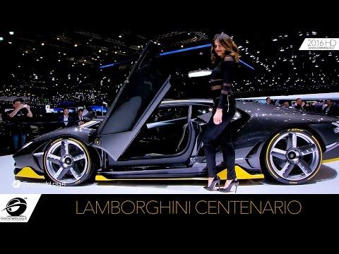 Lamborghini Centenario   WALKAROUND LIVE 2016 #GIMS