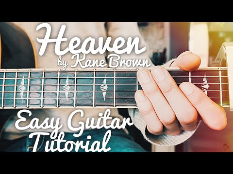 Heaven Kane Brown Guitar Lesson for Beginners  Heaven Guitar  Lesson #425