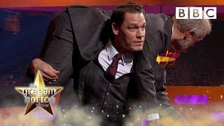 John Cena wants to TAKE DOWN Graham Norton! 💪 - BBC