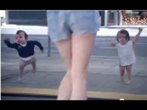 Cute funny baby kid girl boy Amazing dance Divertido bebé chica baile