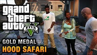 GTA 5 - Mission #27 - Hood Safari [100% Gold Medal Walkthrough]
