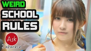 The strictest school rules of Japan! Ask Japanese about school uniform rules and regulations.