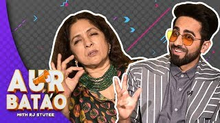INTERVIEW | Ayushmann Khurrana talks 'parental sex', biological clock and Badhaai Ho || AUR BATAO