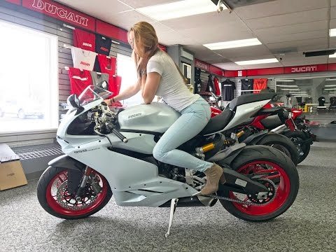 Motorcycle Shopping with My Mom & Girlfriend