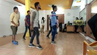 Ammadu let's do kummudu practice Time. Murali choreographer, Vijju mudhiraj.,Dancer Bobby.