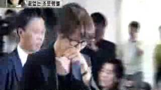 Kim Sun Ah at Jan Jing Young's funeral (YTN)
