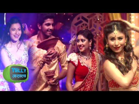 Pratyusha Banerjee, Rithvik Dhanjani, Mouni Roy's Diwali Shoot | Hum Hai Na | Sony Tv