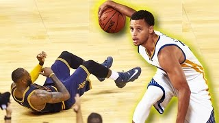 Stephen Curry Breaks LeBron James Ankles! MUST SEE! Stephen Curry Drops LeBron James!