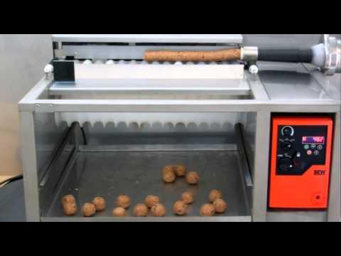 máquina de fazer salgadinhos em bolinhas automatica