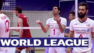 Russia vs. Iran - FIVB World League - Highlights