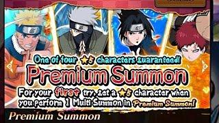 Guaranteed 5-Star Summon - Naruto Shippuden: Ultimate Ninja Blazing