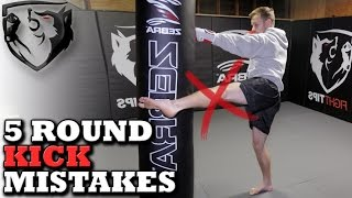5 Common Muay Thai Roundhouse Mistakes: Perfect Your Kick