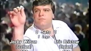 Darts World Championship 1989 Final Bristow vs Wilson