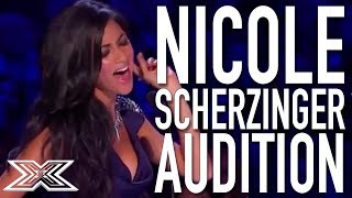 Nicole Scherzinger X Factor Audition