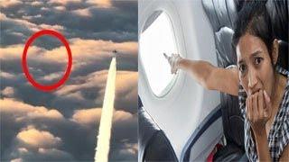 """هذا ما شاهده الركاب من نافذة طائرة """"تابعة للخطوط السعودية وصرخوا مناشدين الله"""""""