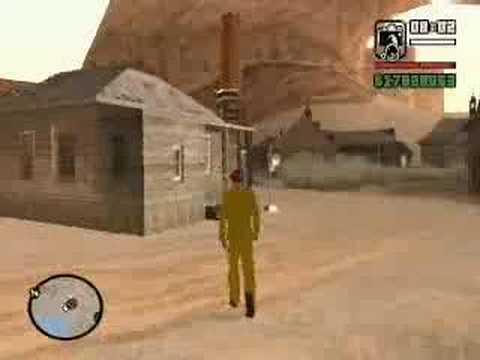 Lendas de GTA San Andreas Cidade Fantasma
