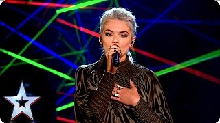 Clean Bandit and Louisa perform new single Tears | Grand Final Results | Britain's Got Talent 2016