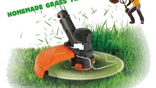 How To make Homemade Grass Trimmer Easy and Fast