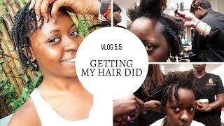 Vlog 5.5 - Getting my hair did + DISCOUNT CODE INSIDE | OmogeMuRa
