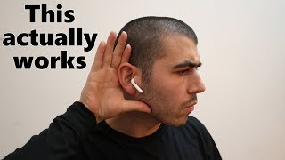 How to SPY on people using your AirPods (**New Feature**)