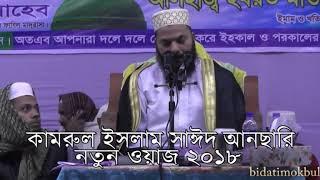 Kamrul Islam Sayeed Ansari waz 2018। বাংলা ওয়াজ ২০১৮